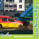 Demolition Derby Cars Crashing at The Royal Show 2019