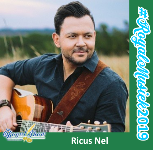 See Ricus Nel Live at the upcoming Royal Show 2019