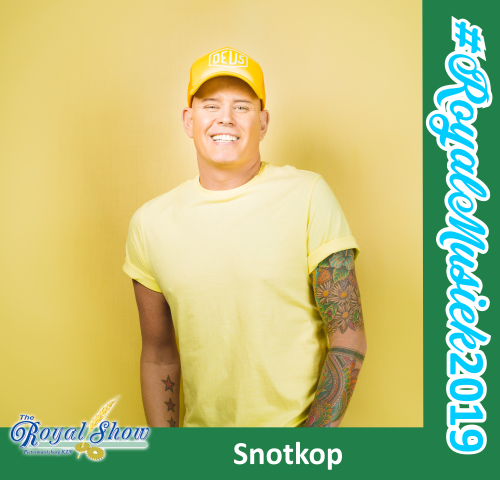See Snotkop Live at the upcoming Royal Show 2019