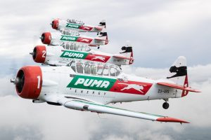 The Puma Flying Lions put on an incredible aircraft show