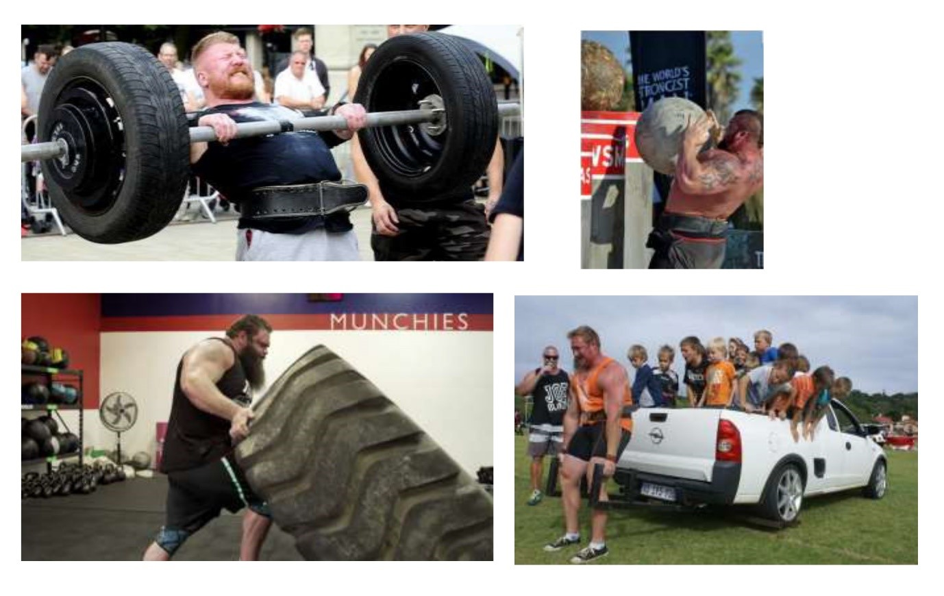 Worlds Strongest Man Strength Demo at The Royal Show 2019