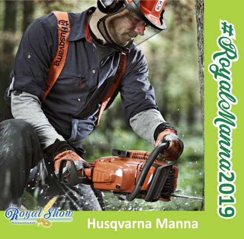 Royal Show - HUSQVARNA BRING OUT THE MANNE COMPETITION
