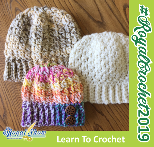 Royal Show - Learn how to Crochet