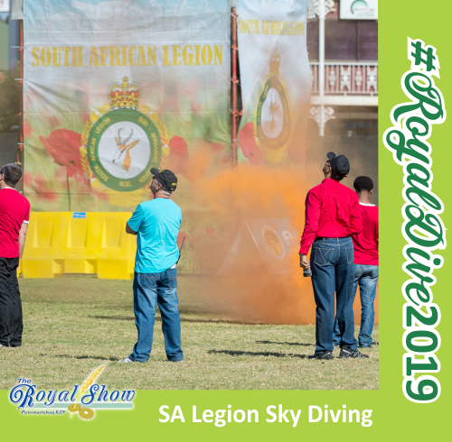 Royal Show - SA Legion Sky Diving