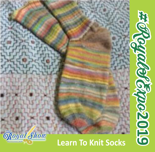 Sheep & Wool Expo - Learn To Knit Socks